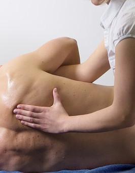 masaż plecy